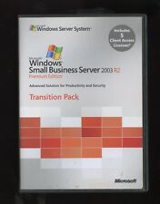 T75-01258 Microsoft Small Business Server 2003 R2 Premium 5 CAL Transition Pack