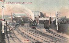 POSTCARD    DORSET   BOURNEMOUTH   Central  Railway  Station