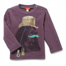 Haut T-shirt Fantaisie Violet Motif Original Little Lord  Iba Marese Taille  6 M