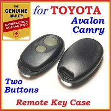 Fit Toyota Camry Avalon Remote case / Shell Two Buttons - Year 2000 - 2006