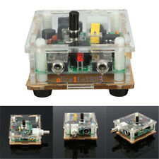 DIY 9-13.8V S-PIXIE CW QRP Shortwave Radio Transceiver Kit 7.023Mhz With Case