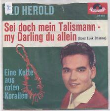 Ted Herold-Sei Doch Mein Talisman vinyl single