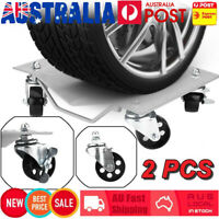 1500Lbs/Pc Wheel Dolly 2Pcs Vehicle Positioning Jack Car Transport Mover Dollies