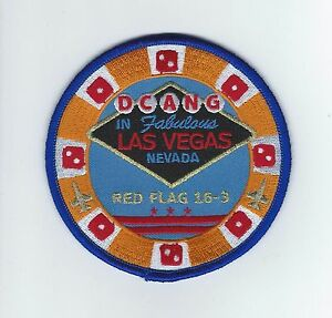 """121st FIGHTER SQUADRON """"RED FLAG 16-3"""" patch"""
