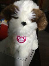 "8"" Fluffy Plush Nintendogs St. Bernard Puppy Dog"