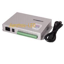 T-300K Controller SD Card online VIA PC RGB Dream Color led 8 Ports 8192 Pixels
