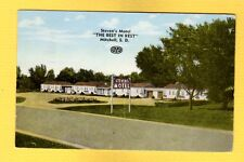 "Mitchell,SD South Dakota, Steven's Motel ""The Best in Rest"" used 1953"