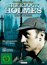 Sherlock Holmes Gigantenbox - 26 Stunden Laufzeit - TV Serie [FSK12] (7 DVD)