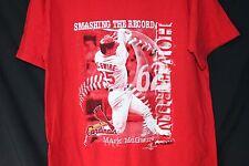 Vintage St Louis Cardinals Shirt Mark McGwire  Smashing the Record MLB Adult L