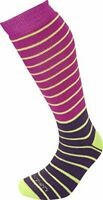 Women's Ski-Snowboard Merino Wool Socks by Lorpen 2 Pack Berry / Plum Size Small