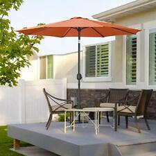 Garden Patio Parasol Outdoor Fe-Al Market Table Parasol Umbrella