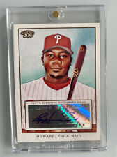 2009 Topps 206 Ryan Howard Auto