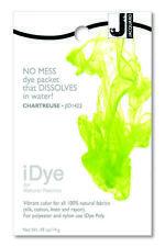 Jacquard iDye Chartreuse - Natural Fabric Dye - washing machine dye