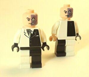 LEGO® DC Batman TWO FACE Minifigure 7781 parts lot