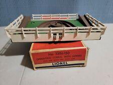 Rare Lionel Postwar Trains 3356-150 Separate sale Corral W/Ob Box