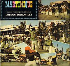 LOULOU BOISLAVILLE, GROUPE FOLK. MARTINIQUAIS BIGUINE CALYPSO LP PARADE 19