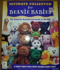 Ultimate Collector for Beanie Babies Complete Unauthorized Guide CD-ROM Windows