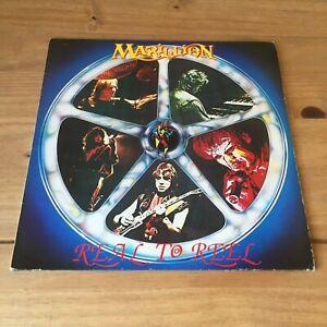 "MARILLION - REAL TO REEL (1984 12"" VINYL ALBUM) EMI EG 2603031  A2/B1"