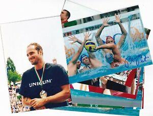 10 x  Ungarn  - Gold  Olympia 2008  - Wasserball - Fotos  -  signiert - !!!