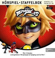 MIRACULOUS - MIRACULOUS-STAFFELBOX 2.1,FOLGE 1-13-HÖRSPIEL   MP3 CD NEU