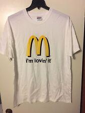 McDonald's I'm Lovin' It T-Shirt NEW Size XL