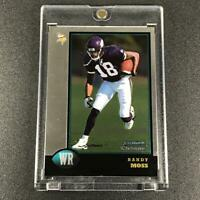 RANDY MOSS 1998 TOPPS BOWMAN CHROME #182 ROOKIE CARD RC VIKINGS NFL HOF