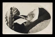 antica cartolina S.BERNADETTE SOUBIROUS