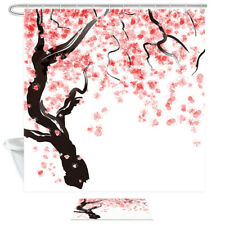 New Selling Shower Toilet Waterproof Thick Polyester 3D Printed Shower Curtain