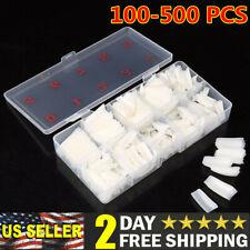 500Pcs Artificial French Nail Tips Fake Half False Acrylic UV Gel Natural/Clear
