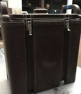 Cambro Brown Insulated Soup Carrier 350LCD. Our #8
