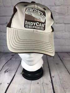 Maingate INDYCAR SERIES HAT Baseball CAP beige Brown Adjustable