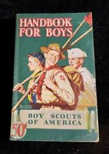 37.  Boy Scout 1946 Handbook Norman Rockwell Cover