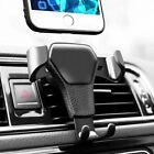 Universal Mobile Car Phone Holder Air Vent Gravity Design Mount Cradle Stand UK