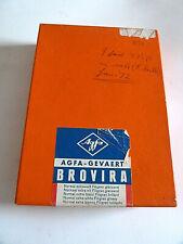Agfa Brovira photographic paper -12 x  16.5 cm  - 100 sheets opened