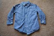 THE CHILDRENS PLACE Boy Plaid Casual Dress Shirt ~ Size 4