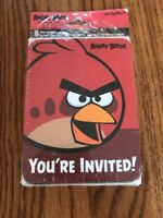 Angry Birds 8 Invitations Thank You Post Cards Design Ware Ships N 24h