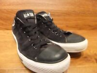 Converse CT All Star Black Corduroy Casual Trainers Size UK 9 EUR 42.5