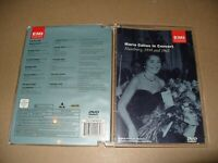 Maria Callas -Live In Concert Hamburg 1959 And 1962 dvd + Inlay Ex+ Cond (F7)