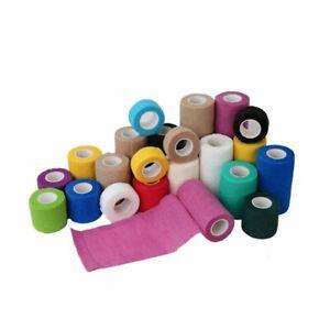 Haftbinde Fixierbinde Binde Druckbinde selbsthaftend elastisch kohäsiv farbig