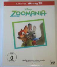 Zoomania 3D+2D Blu Ray NEU OVP