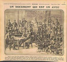 Feldgrauen Soldiers Deutsches Heer Document Germany Château Champagne WWI 1916