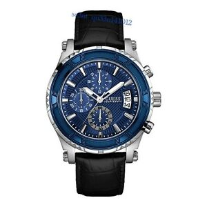AUTHENTIC GUESS MEN'S CHRONOGRAPH WATCH ICONIC W0673G4 RRP: $449 New