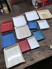 Lot Of 12 Various Darkroom Trays