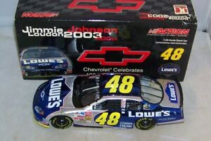 1:24 ACTION 2003 #48 LOWE'S CHEVY 400TH WIN JIMMIE JOHNSON 2004 COLOR CHROME