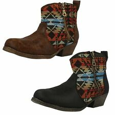 Mid Heel (1.5-3 in.) Unbranded Textile Upper Boots for Women