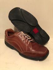 COLE HAAN BRAND NEW brandy color leather tie shoe Mens size 11