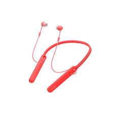 Auriculares inalambricos Sony Wi-c400r rojo