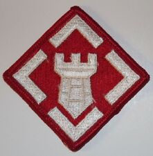 New 20th Engineer Brigade Patch, Sew-On, Full Color