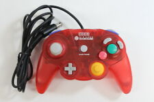 HORI Nintendo GameCube Controller Pad Clear Red GC Switch Wii Tight Stick GP035