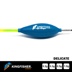 """POLE FISHING FLOATS - The Kingfisher """"Delicate"""" Pack of 4 HIGH QUALITY"""